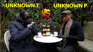 After years of drilly beef, the UK's first posh drill rapper, Unknown P - meets his arch nemesis, Unknown T. Special thanks to Mr. Fogg's Residence for letting us ...