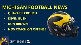 Michigan Football Recruiting: News On Harbaugh Visiting Quavaris Crouch;  Plus Bowl Game News