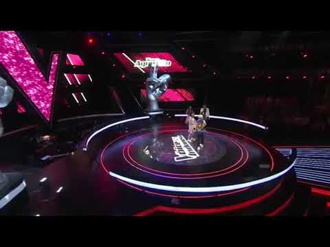 Keren abis !!! Agnez mo ft clarissa coke bottle  the voice kids indonesia season 2