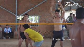 HD The Best Volleyball famous player || Sovaneth (Nerma), Mab Vs Angkrak || July 2018  (part 1)