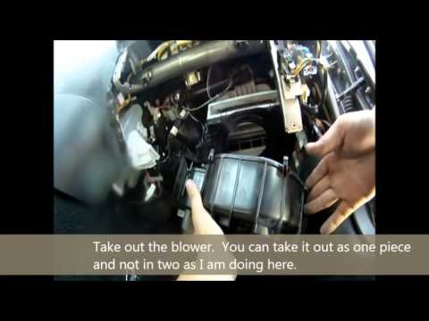 2006 Subaru Wrx Evaporator Replacement Diy Youtube