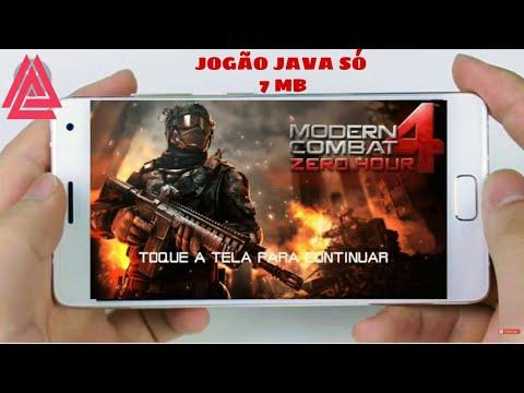MODERN COMBAT 4 ZERO HOUR JAVA PARA ANDROID//LEIA A DESCRIÇÃO.