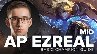 AP Ezreal runeglaive S5 guide with TSM Bjergsen | League of Legends