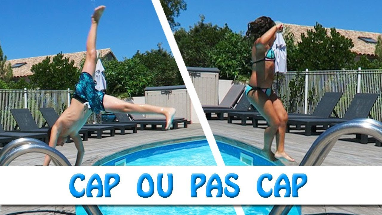 Cap ou pas cap piscine en corse youtube for Piscine en corse