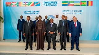 President Kagame attends the 8th Extraordinary session of ECCAS | Libreville, 30 November 2016