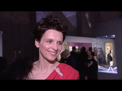 Interview Juliette Binoche pour l'expo : Le style et L'histoire de Cartier - Nec plus Ultra