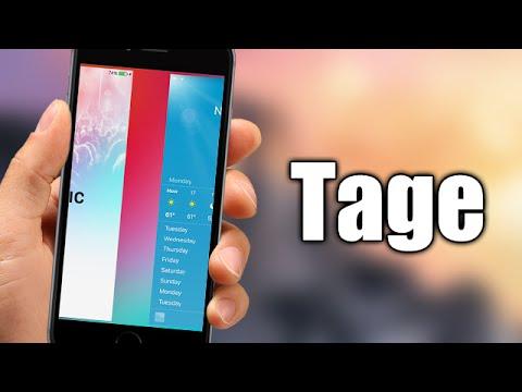 Tage - iOS 9 Jailbreak Cydia Tweak