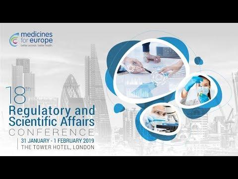 Meet the pharma regulators in London! 18th Regulatory and Scientific Affairs Conference