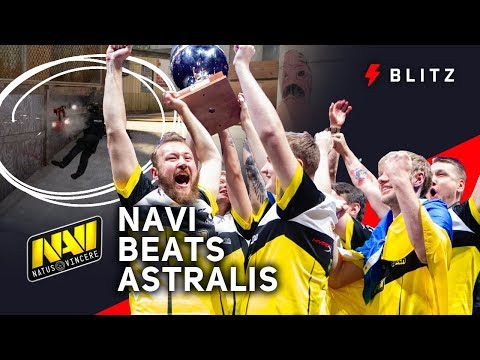How Zeus's calls helped Na'vi take down Astralis at Cologne