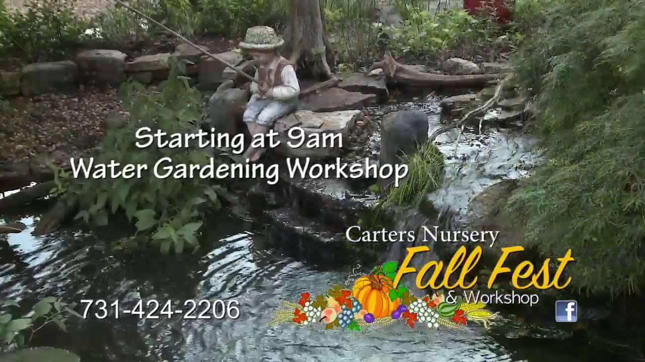 Fall Fest At Carter S Nursery Pond Patio Jackson Tn
