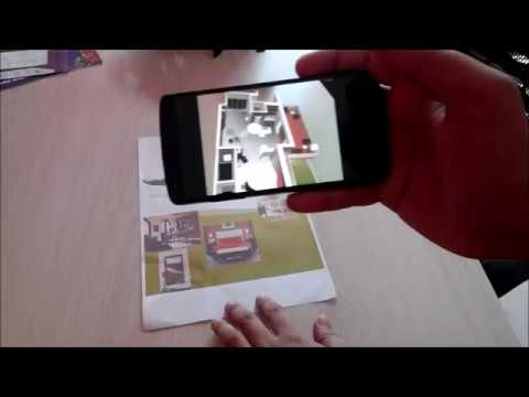 3D Architectural Floor Plan with Augmented Reality App