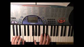 Falling Slowly Piano/Keyboard Tutorial for