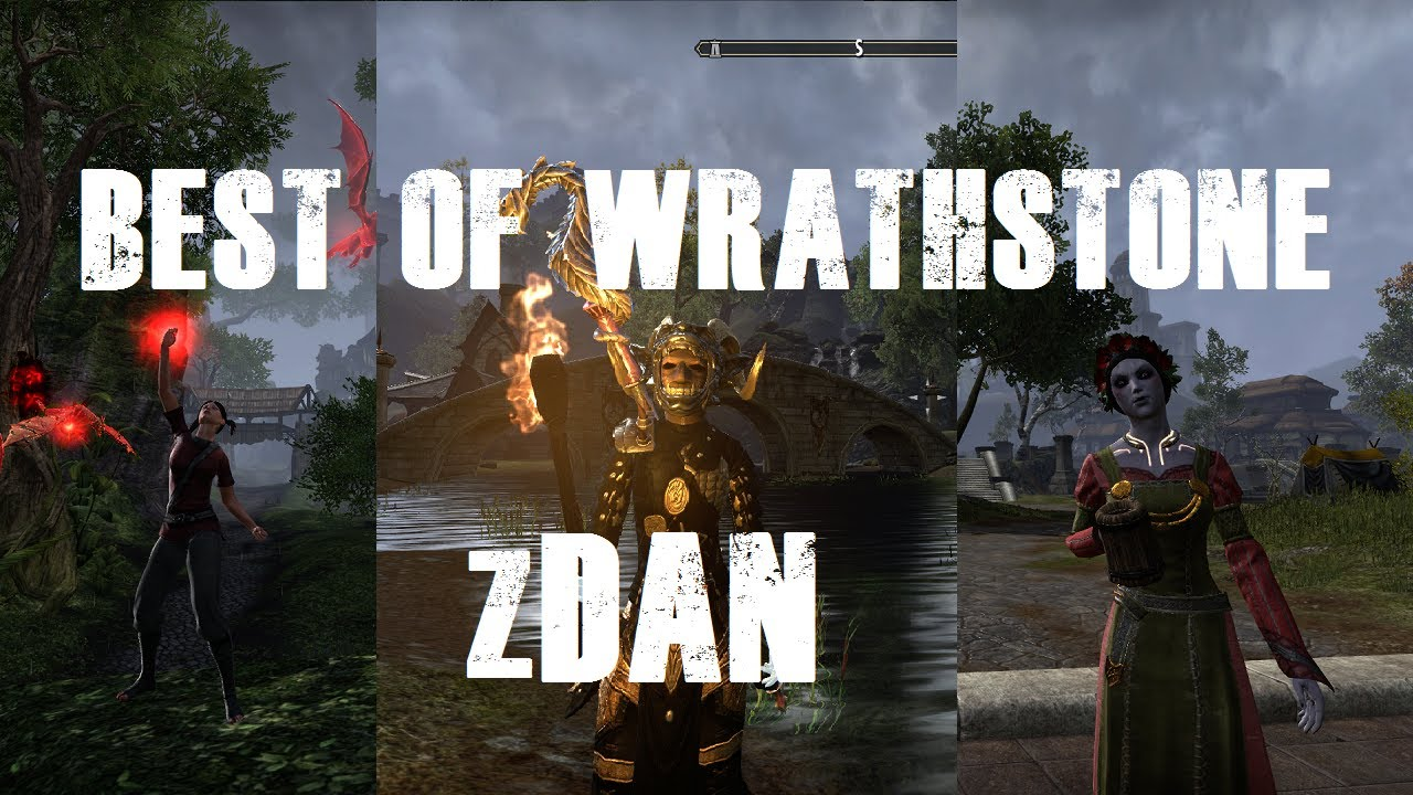 ESO PVP - zDan BEST OF WRATHSTONE 1VX - zDan,mumclip com