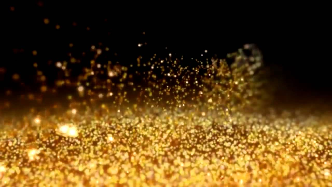 Gold Dust Free HD Background After Effect & Sony Vegas