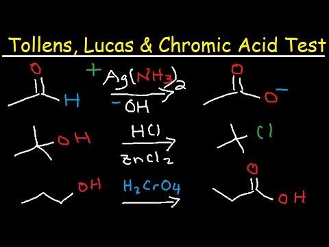 Tollens Reagent Mechanism, Lucas & Chromic Acid Test, Organic Chemistry