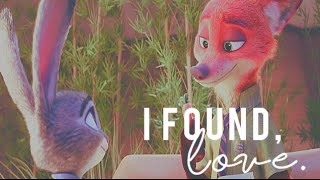 Video Nick Wilde & Judy Hopps • I Found, Love. (Zootopia MV) download MP3, 3GP, MP4, WEBM, AVI, FLV November 2018