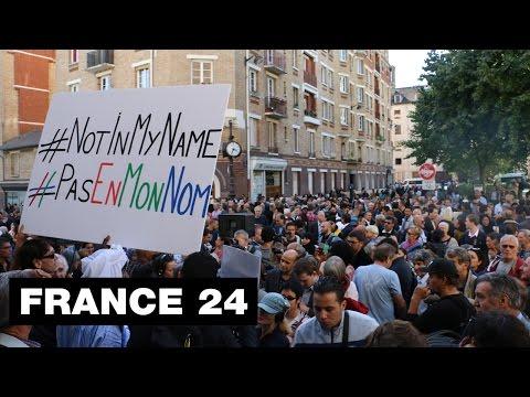 """Les musulmans de France répliquent à l'EI : """"L'Islam, c'est la paix, l'Islam, c'est l'amour"""""""
