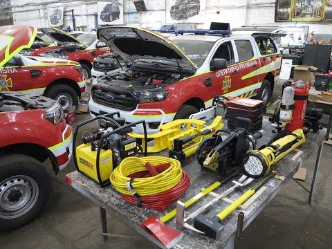 В Украине сделали аварийно-спасательный автомобиль на базе Ford Ranger