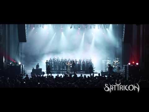 "SATYRICON - Die By My Hand - Exclusive preview from ""Live at the Opera"" 