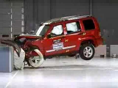 crash test 2008 2011 jeep liberty dodge nitro frontal. Black Bedroom Furniture Sets. Home Design Ideas