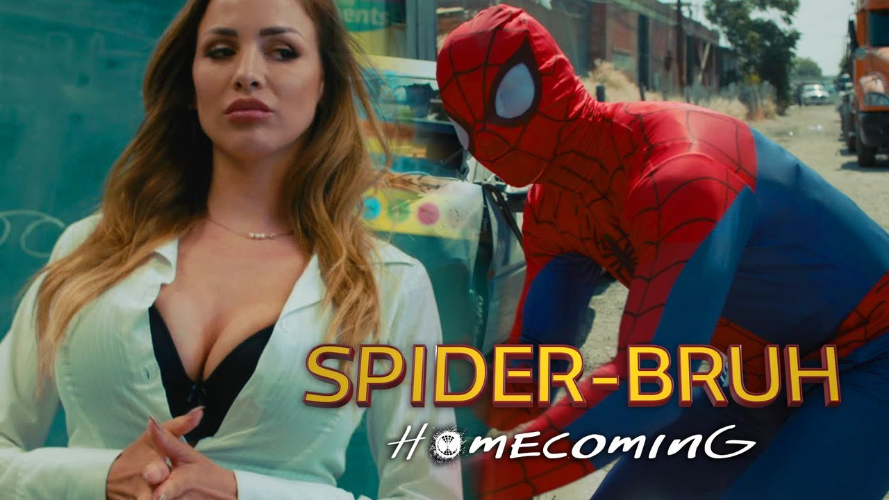 SPIDERMAN HOMECOMING PARODY SPIDERBRUH by kingbach