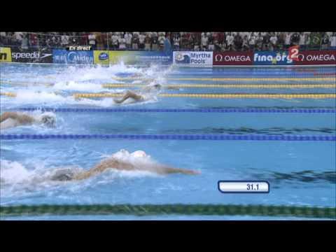 Men's FINAL 100m Freestyle Shanghai 2011 MAGNUSSEN James 100m Nage Libre Hommes