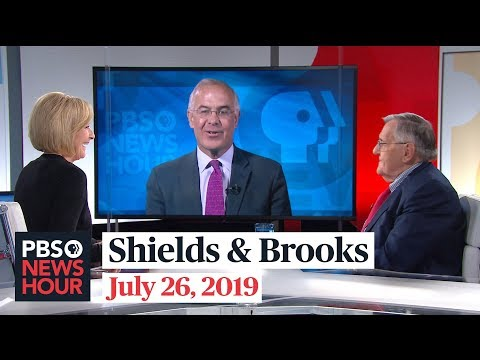 """David Brooks: """"Deus Ex Mueller"""" Fantasy Didn't Pan Out, Democracy Makes It Hard To """"Take A President Out"""""""