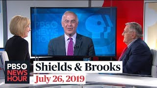 Shields and Brooks on Mueller's testimony, election security