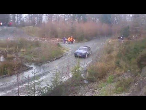 Iwan Roberts / Baz Green SS3 Penmachno Quarry Cambrian Rally