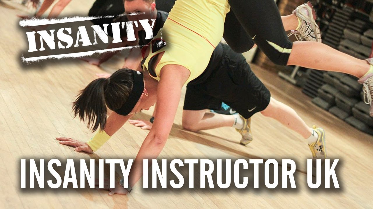 Insanity live instructor