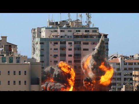 تدمير مبنى يضم مقرات وسائل إعلام دولية بغزة في غارة إسرائيلية يثير قلقا دوليا  - نشر قبل 23 دقيقة