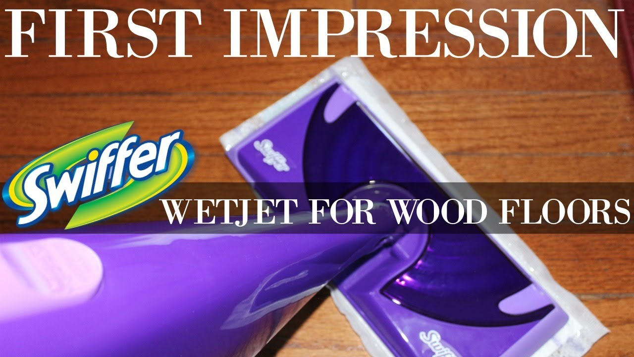 - HOW TO CLEAN WOOD FLOORS SWIFFER WETJET - YouTube