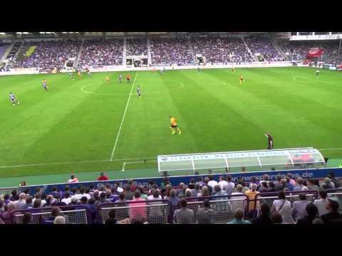 2nd half of the match, Vfl Osnabruck vs Dynamo Dresden 2-2