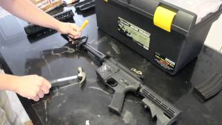 How to Install a Rail System on a G&P M4