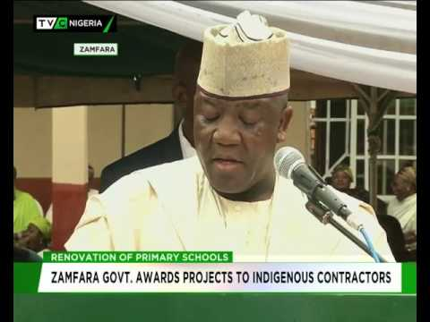 Zamfara government awards contracts to indigenous Contractors