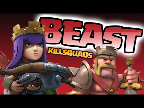 Clash of Clans: BEAST KILLSQUADS FOR MAX VALUE