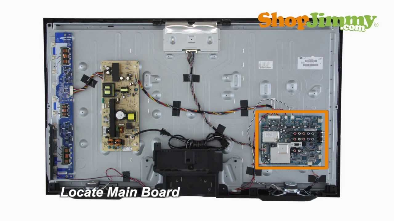 ea7ebabac Sony KDL 1-857-593-21 A Boards / Main Boards Replacement Guide for Sony LCD  TV Repair - YouTube