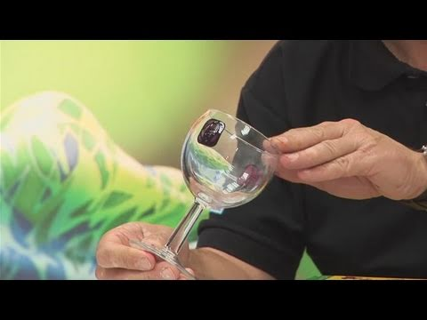 how to paint a wine glass youtube