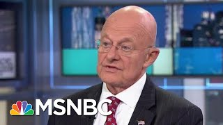 James Clapper: Dossier Was Not Used For Intelligence Assessment Of 2016 | Rachel Maddow | MSNBC
