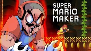 THIS WAS THE ULTIMATE RAGE/TROLL LEVEL!! [SUPER MARIO MAKER] [#148]