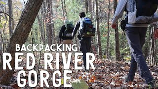 Backpacking Below Freezing in Kentucky's Red River Gorge | Daniel Boone National Forest