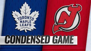 12/18/18 Condensed Game: Maple Leafs @ Devils