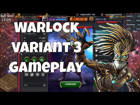 Warlock Review & Gameplay  l  Marvel Contest Of Champions