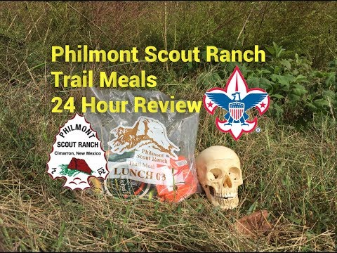 Philmont Scout Ranch Trail Meals: A Boy Scout Ration/MRE Review With Safety Optional!