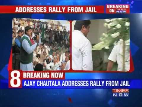 Ajay Chautala flouts rules inside Tihar jail.