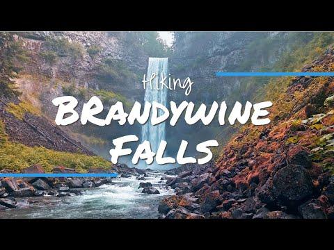 BRANDYWINE FALLS: A Spectacular 70 Metre WATERFALL Near Whistler!
