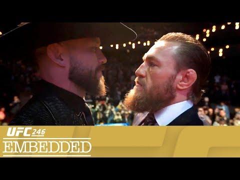 UFC 246 Embedded: Vlog Series - Episode 4 - Видео онлайн