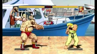 Super Street Fighter II Turbo HD Remix (Xbox Live Arcade) Arcade as Zangief