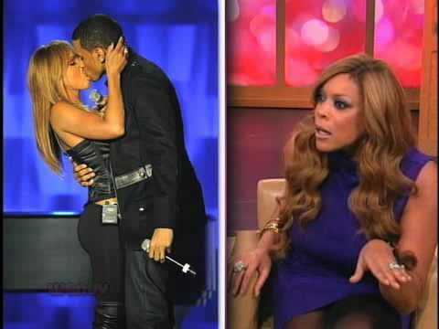 Toni Braxton And Trey Songz Kiss! WTF