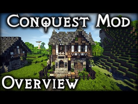 1.8.9 Conquest Mod - Overview